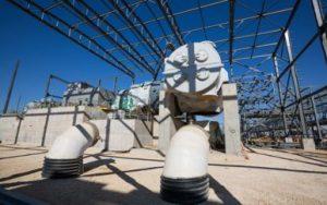 הטורבינה ממירה אנרגיית חום לאנרגיית חשמל