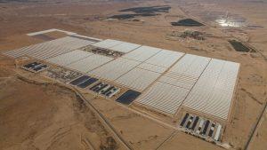 תחנת הכוח והאתר הסולארי