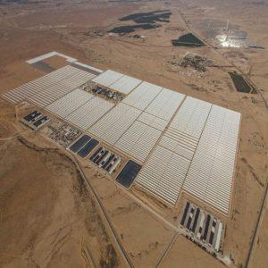 האתר הסולארי ותחנת הכוח, ובאופק היישוב אשלים ופרויקט מגלים