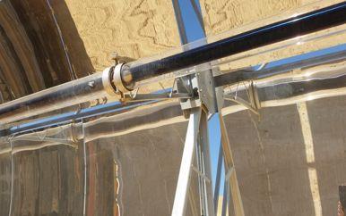 Receiver - צינור השמן הקולט את אנרגית השמש