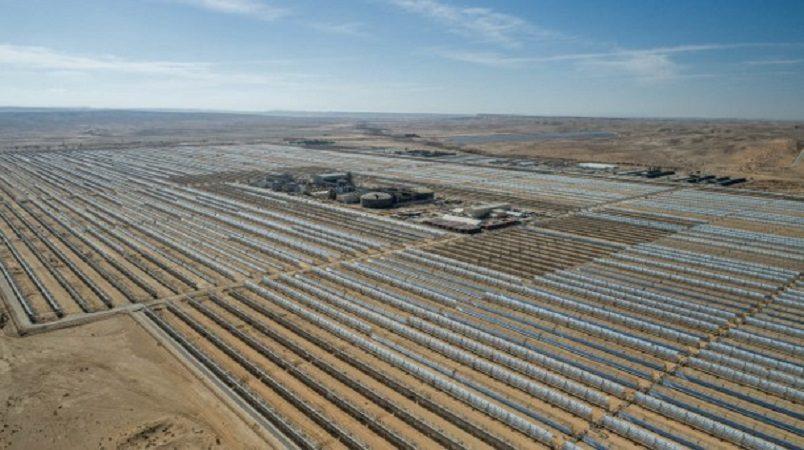 מבט על תחנת הכוח נגב אנרגיה באשלים - 2018